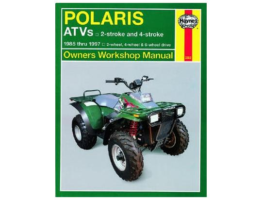 Picture of Haynes Manual - Polaris ATVs 2-Stroke + 4-Stroke