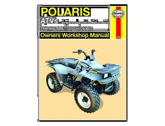 Picture of Haynes Manual - Polaris ATVs - Single-seat Gasoline PVT Models