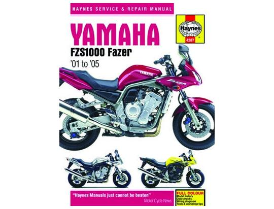 Picture of Haynes Manual - Yamaha FZS1000 Fazer 01-05