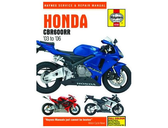 Picture of Haynes Manual - Honda CBR600RR 03-06