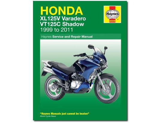 Picture of Honda VT 125 CX Shadow 99 Manual Haynes