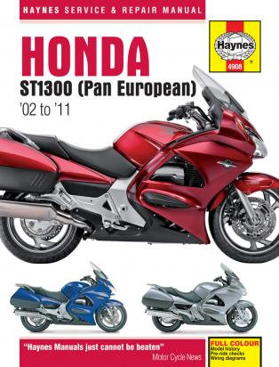 Picture of Haynes Manual - Honda ST1300 Pan European 02 - 10
