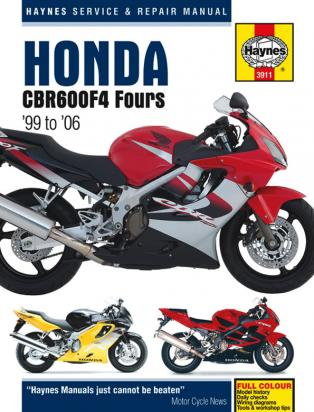 Picture of Haynes Manual - Honda CBR600F  1999-2006