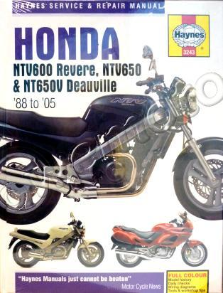 Picture of Haynes Manual - Honda NTV600/650 Revere / Deauville 88-05