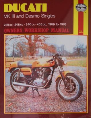 Picture of Haynes Manual - Ducati MkIII & Desmo Singles 1969-1976