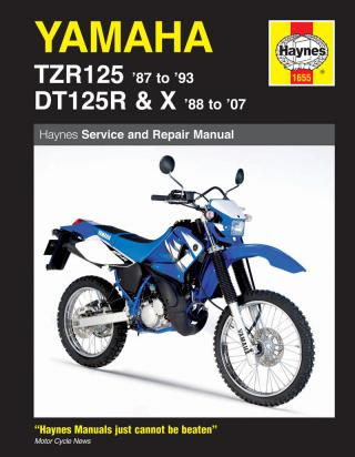Picture of Haynes Manual - Yamaha TZR125 DT125
