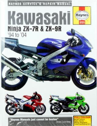 Picture of Haynes Manual - Kawasaki ZX-7R ZX-9R Ninja 1994-2004