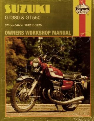 Picture of Haynes Manual - Suzuki GT380 GT550