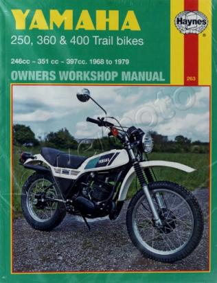 Picture of Haynes Manual - Yamaha 250 360 400 Trail Bikes