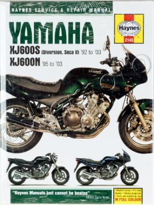 Picture of Haynes Manual - Yamaha XJ600S (Diversion, Seca II) & XJ600N Fours