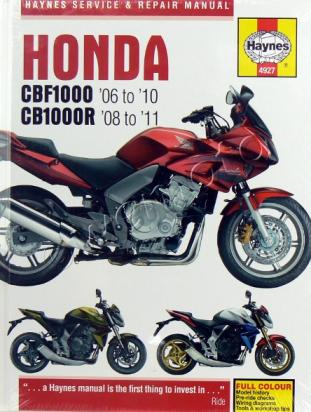 Picture of Haynes Manual - Honda CBF1000 CB1000R CBF1000A CBF1000RA
