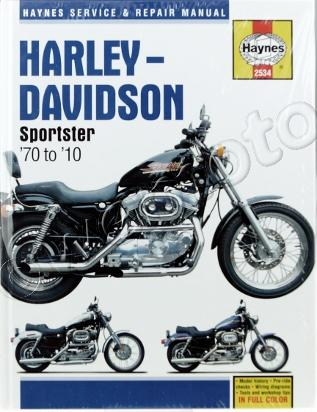 Picture of Haynes Manual - Harley Davidson Sportsters 1970-2010