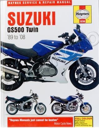 Picture of Haynes Manual - Suzuki GS500 1989-2006