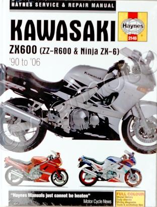 Picture of Haynes Manual - Kawasaki ZZR600 ZX6