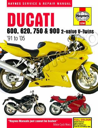 Picture of Haynes Manual - Ducati 600, 750 &900 2-valve V-Twins