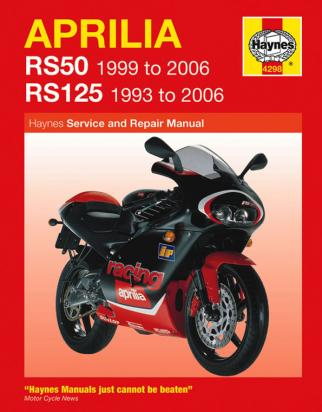 Picture of Haynes Manual - Aprilia RS50 1999-2006 & RS125 1993-2006