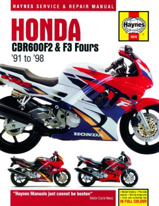 Picture of Haynes Manual - Honda CBR600