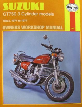 Picture of Haynes Manual - Suzuki GT380 550 750 Triples