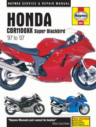 Picture of Haynes Manual - Honda CBR 1100 Blackbird 97-07