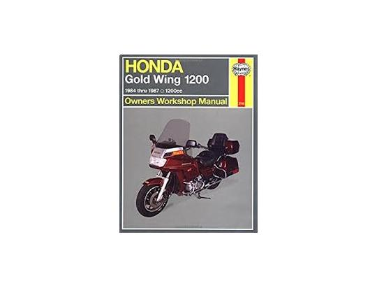 Picture of Haynes Manual - Honda GL1200 Goldwing USA
