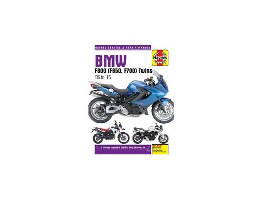 Picture of Haynes Manual - BMW F650GS 07-12 F800GS 07-16 F800R 09-16 F800S 06-10 F800ST 06-12 F800GS ADV 13-16