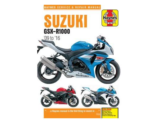 Picture of Haynes Manual - Suzuki GSX-R 1000 09-16