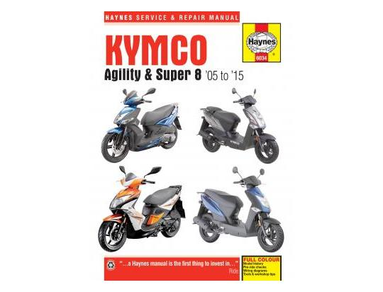 Picture of Haynes Manual - Kymco Agility 50 125 Super 8