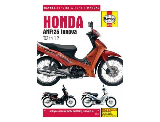 Picture of Honda ANF 125i Innova 12 Manual Haynes