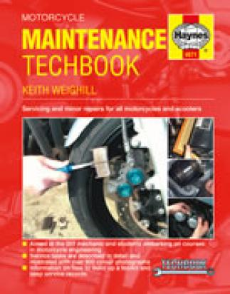 Picture of Haynes Manual - Motorcycle Maintenance Techbook