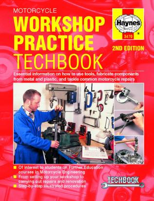 Picture of Haynes Manual - Motorcycle Workshop Practice Manual
