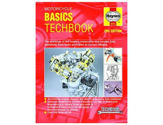 Picture of Haynes Manual - Motorcycle Basics Techbook