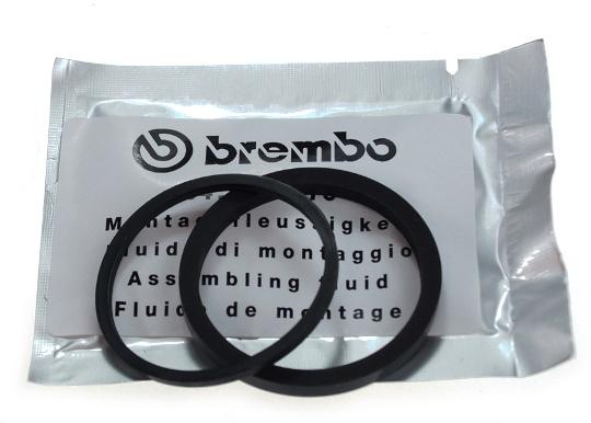 Picture of Caliper Piston Seal and Dust Seal ID 32 mm By Brembo KTM 50313081000 seals for one piston