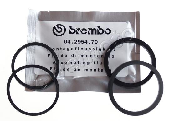 Picture of Piston Seal and Dust Seal Front Brake - Genuine Part