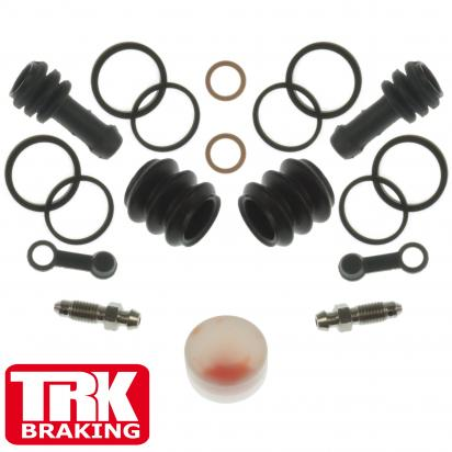 Picture of Kawasaki ER-6 N D9F (ABS) 09 Brake Caliper Repair Kit Front (Twin) - by TRK