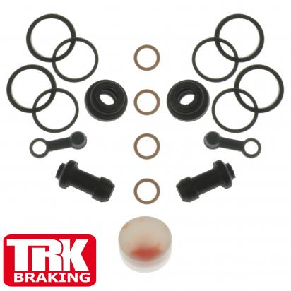 Picture of Suzuki AN 400 AL2 Burgman ABS 12 Brake Caliper Repair Kit Front (Twin) - by TRK