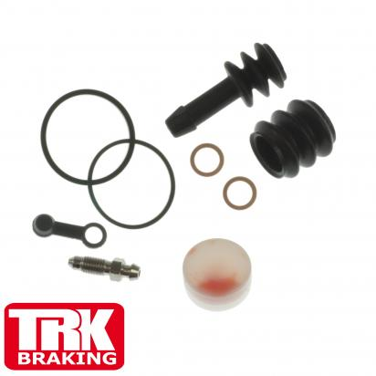 Picture of Kawasaki Vulcan 400 (EN 400 B1-B3) 90-93 Brake Caliper Repair Kit Front - by TRK