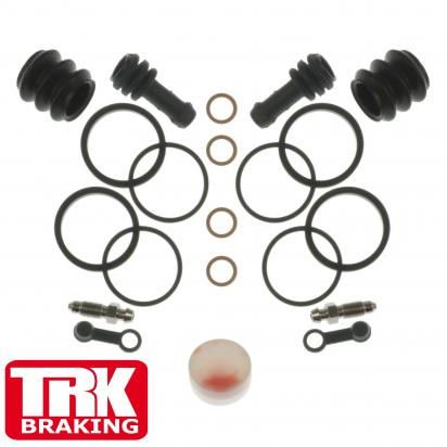 Brake Caliper Repair Kit Front (Twin) - by TRK