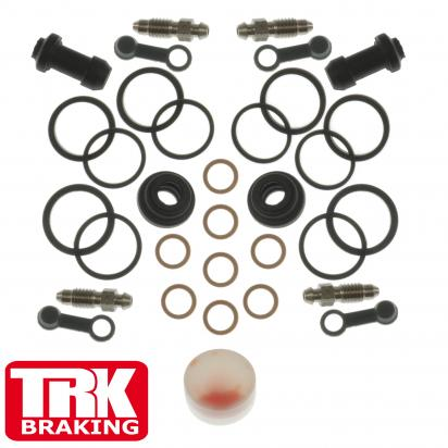 Picture of Brake Caliper Repair Kit TRK-BSK035 Honda Front Varadero XL1000 01-10