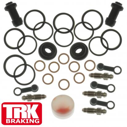Picture of Brake Caliper Repair Kit TRK-BSK041 Honda Front VFR 800 02-13