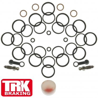 Picture of Brake Caliper Repair Kit Front (Twin) - by TRK