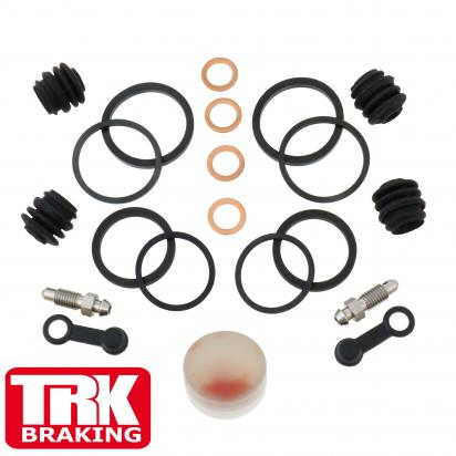 Picture of Yamaha XJ6 SA Diversion (ABS) 11 Brake Caliper Repair Kit Front (Twin) - by TRK