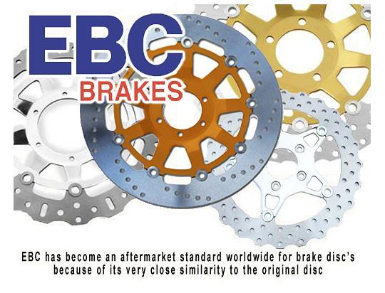 Brake Disc Front EBC - Right Hand