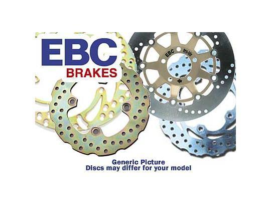 Picture of Yamaha WR 125 R 12 Brake Disc Rear EBC Contour