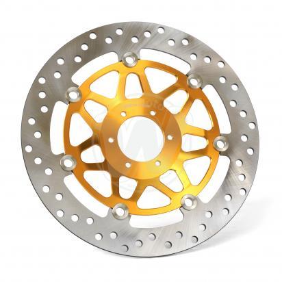 Picture of Brake Disc Front Left Honda CBR400RR NC23/NC29 - VTR1000F Firestorm Gold Centre