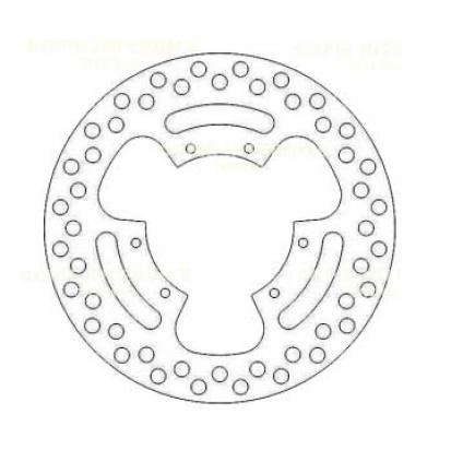 Picture of Brake Disc Front Derbi Senda RX-Treme