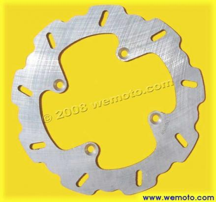 Picture of Kawasaki ZZ-R 400 (ZX 400 N2-N4) 94-96 Brake Disc Rear Kyoto Wavy