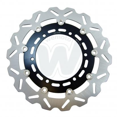 Brake Disc Front Wavy - Right