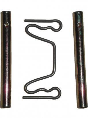 Picture of Rear Caliper Brake Pad Retaining Pin - with R Clip