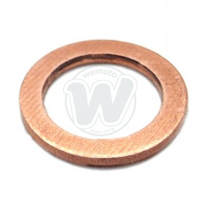Picture of Kawasaki KL 250 G7 Super Sherpa (US Market) 03 Fork Damper Retaining Bolt Copper Sealing Washer
