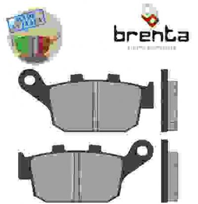 Picture of Honda XL 400 VR/VR-II Transalp 94-96 Brake Pads Rear Brenta Standard (GG Type)